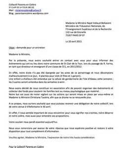 Ecole De Ministres 3 Lettres Lettres Et Message 224 Suivre Parents En Colere St Clair De La Tour