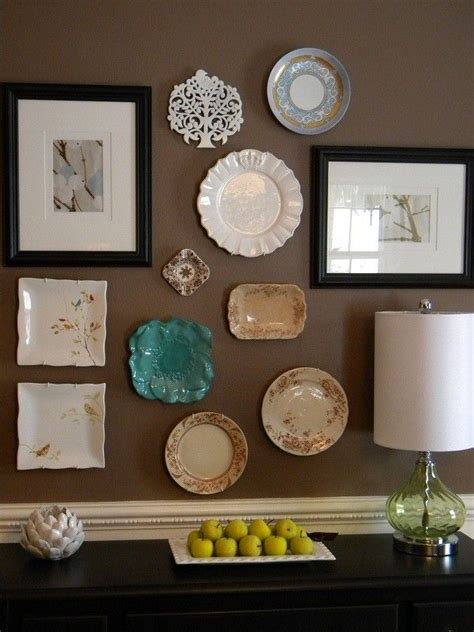 wall plate decor 25 best ideas about brown wall decor on