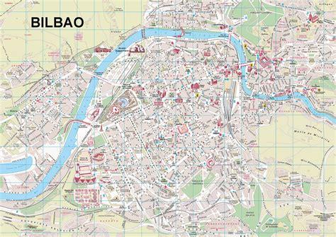 map of spain bilbao map of bilbao spain