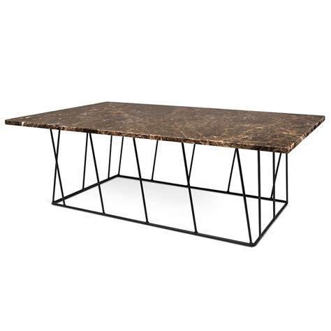 Brown Black Coffee Table Helix Brown Black Marble Modern Coffee Table Eurway