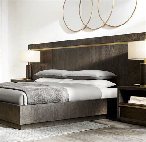metal platform bed brass and metal platform bed from rh modern decoist