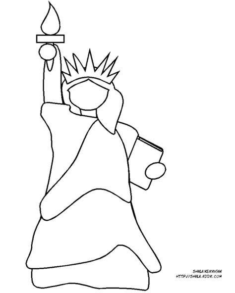 statue of liberty coloring pages az coloring pages