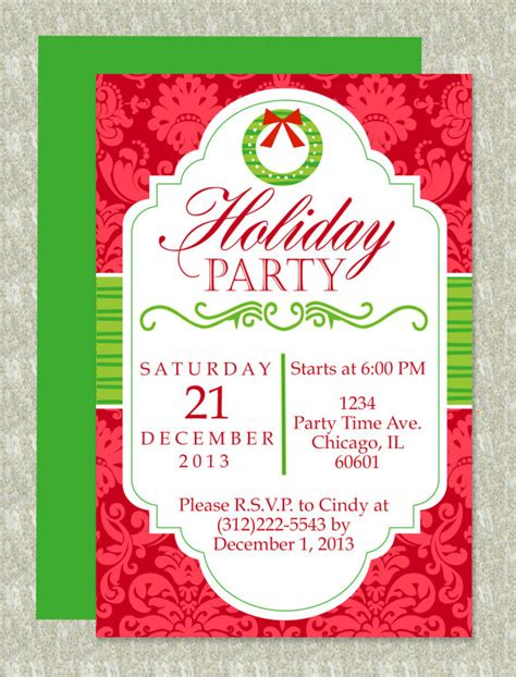 christmas invite template microsoft word microsoft word invitation template on boy printable ms word