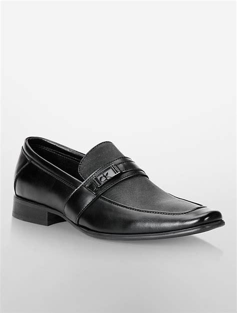 calvin klein shoes mens calvin klein mens bartley loafer shoe ebay