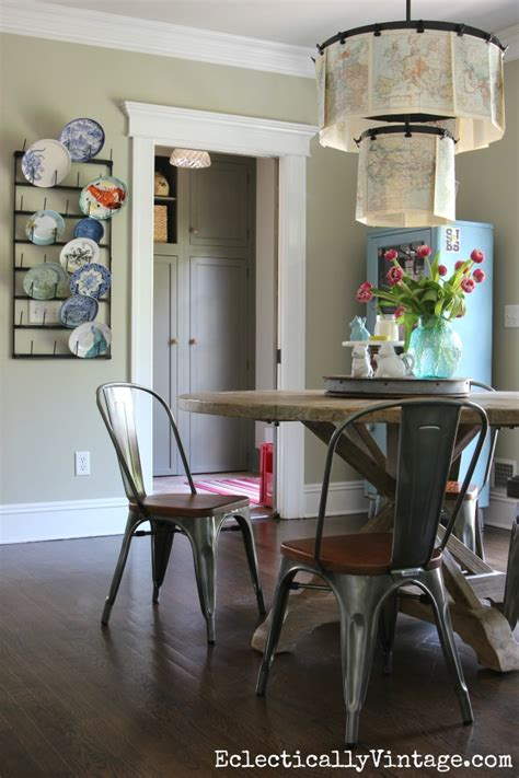 modern farmhouse kitchen table rustic wood dining table
