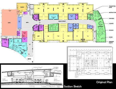 elementary school floor plans home uniqueacademy educ605 tripod com