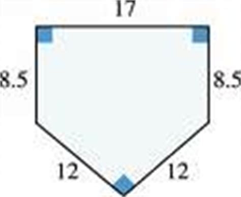 best photos of home plate dimensions inches baseball