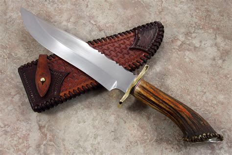 Handmade Mountain Knives - mountain bowie rougeau knives