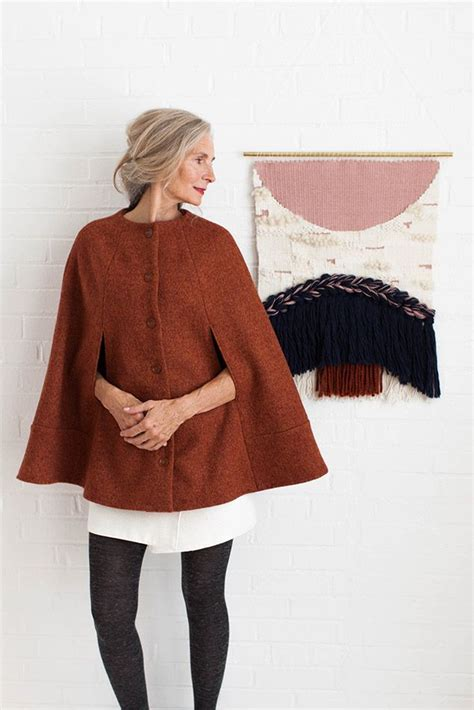 sewing pattern cape 11 best chic cape sewing pattern images on pinterest