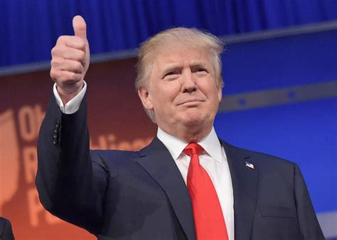 donald trump donald trump thumbs up las vegas tribune