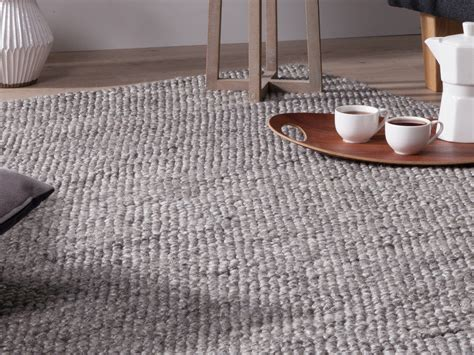 tapis one tapis tiss 233 effet boucl 233 gris chellam 140x200 cm