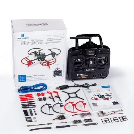 cara membuat quadcopter arduino 6d box mwc multiwii quad drone quadcopter diy starter kit