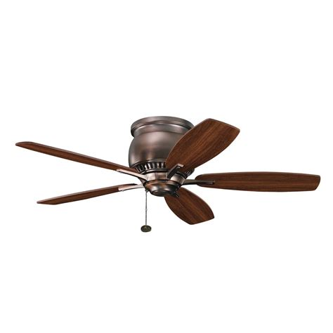 kichler ceiling fans with lights kichler lighting 300124obb richland ii 42 quot transitional