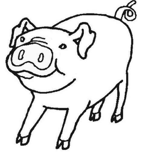 pig coloring page preschool pigs coloring pages for kids coloring home