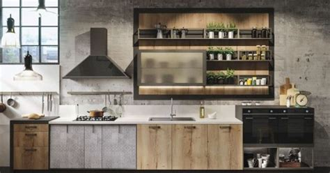 industiral and rustic loft kitchen by snaidero digsdigs industiral and rustic loft kitchen by snaidero digsdigs