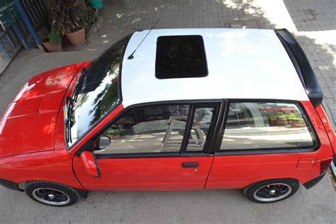 modified maruti 800 with scissor doors shifting gears