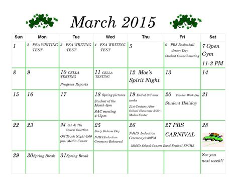Calendar 2015 March March 2015 Calendar Driverlayer Search Engine