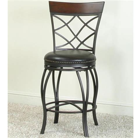 monza bar stool cramco inc monza bar swivel stool with curved legs