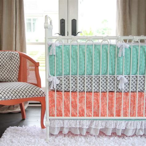 baby bedding coral color 90 best coral nursery inspiration images on coral nursery nursery ideas and coral