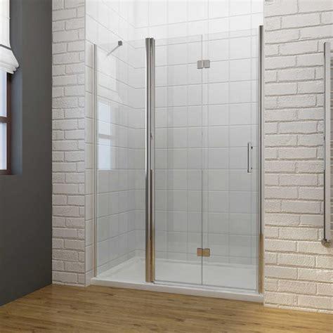 Elegant Frameless Bi Fold Shower Door Hinge Shower Frameless Shower Doors Uk