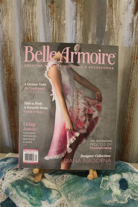 belle armoire magazine sharon mansfield in belle armoire magazine the tin thimble