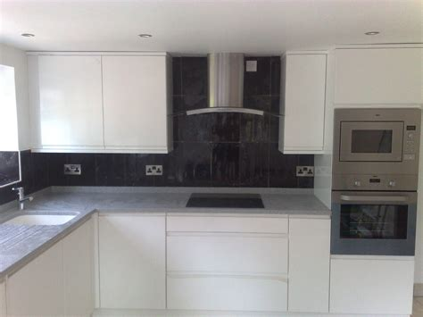 tile wall kitchen black walls tiles in new kitchen 171 tiler in stockport