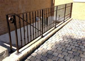 Exterior Aluminum Handrails Custom Railing Fabrication Amp Installation For Commercial