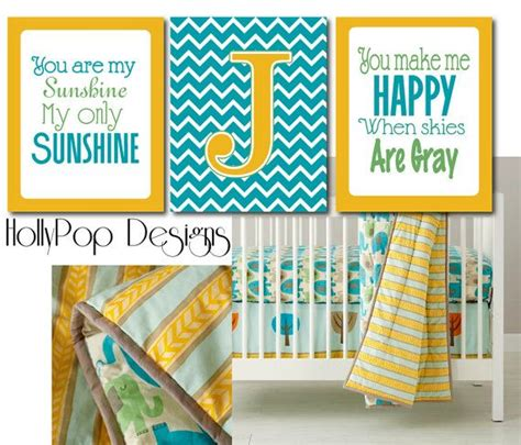 you are my sunshine bedroom you are my sunshine art prints teal blue yellow chevron