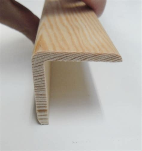 wooden corner beading angle pine cushion corner trim moulding 40x40mm 2 4m bead
