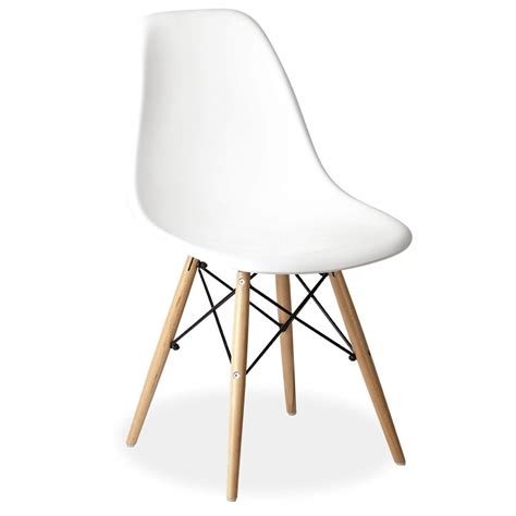 stuhl wooden white eames style dsr wooden eiffel chair for hire