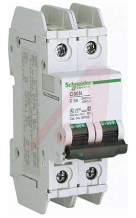 Mcb Domae Mini Circuit Breaker Schneider 2p 6a 2x6a 60141 c60 mcb mini circuit breaker 2p 6 a 10 ka rms