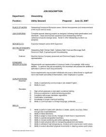 Housekeeper Resume Sles by Cleaning Duties Resume Ebook Database