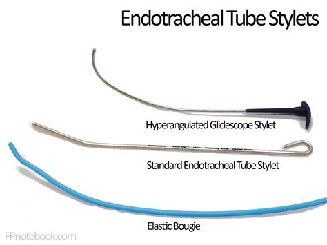 lighted stylet for sale endotracheal intubation preparation