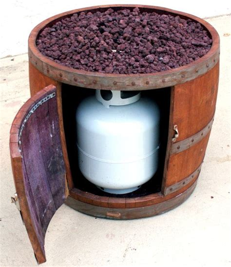 barrel pit table wine barrel pit by smoketreebarrelco on etsy