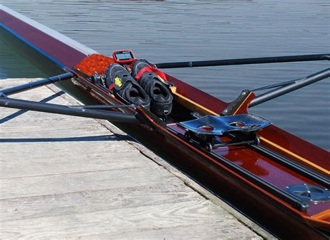 row boat scull levator boatworks quality custom sculling row boats