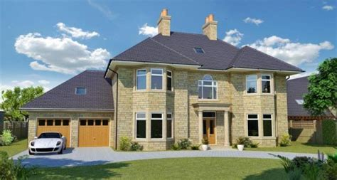 Floor Plans For 4 Bedroom Houses by 6 Bedroom Detached House For Sale In Fulwith Mill Lane