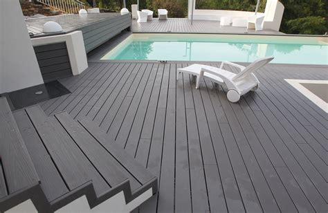 terrasse pvc lame de terrasse composite fiberon horizon fiberdeck