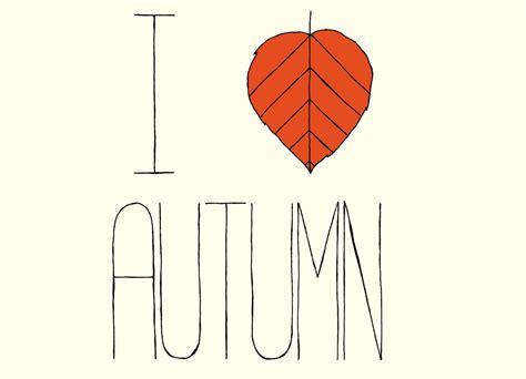 Home At The Beach Decor i love autumn by studiofolk threadless