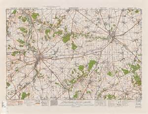topographic map of belgium belgium ams topographic maps perry casta 195 177 eda map
