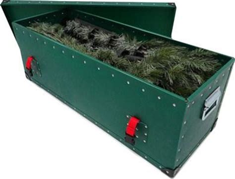 christmas tree storage box container case made in uk in