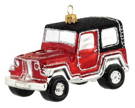 jeep christmas decorations all terrain car jeep christmasornaments com