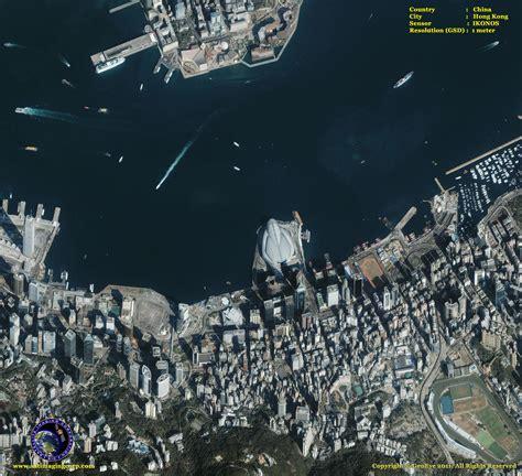 ikonos satellite image of hong kong satellite imaging corp