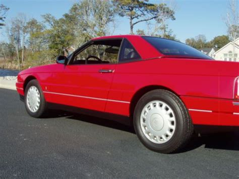 car repair manuals download 1993 cadillac allante windshield wipe control buy used 1993 cadillac allante hardtop convertible with northstar engine 9 166 miles mint in