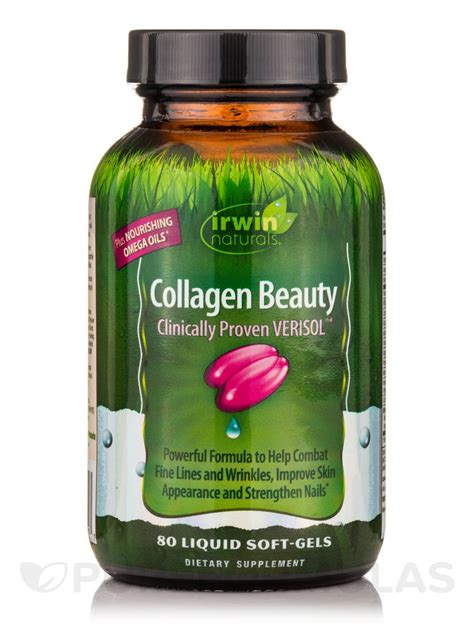 Collagen Softgels collagen 80 liquid soft gels