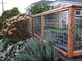 this fence the wire panels are available at your
