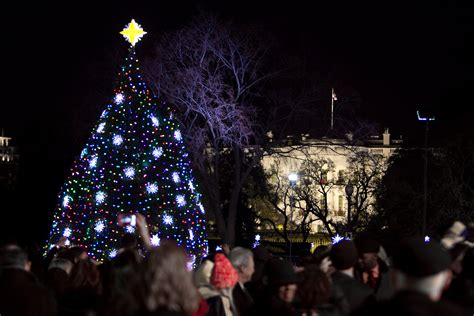 ge lighting illuminates the national christmas tree ge