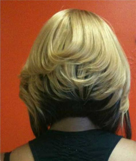 inverted two tone blonde bob style 2015 two tone dark brown with blonde on top haircentric