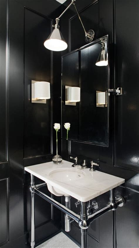 bathroom dark 19 almost pure black bathroom design ideas digsdigs