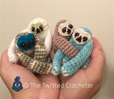 www coatsandclark crafts crochet projects crochet amigurumi baby finger sloth pattern free the