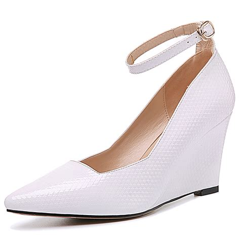 cheap white wedge heels fs heel